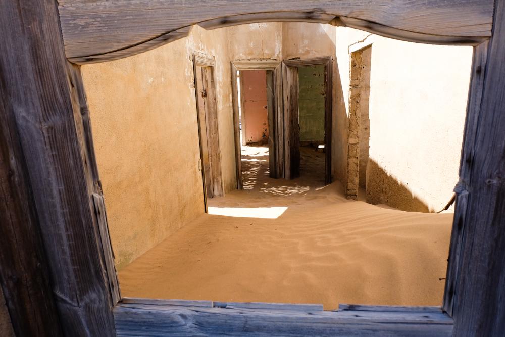 Viaggio in Namibia kolmanskop