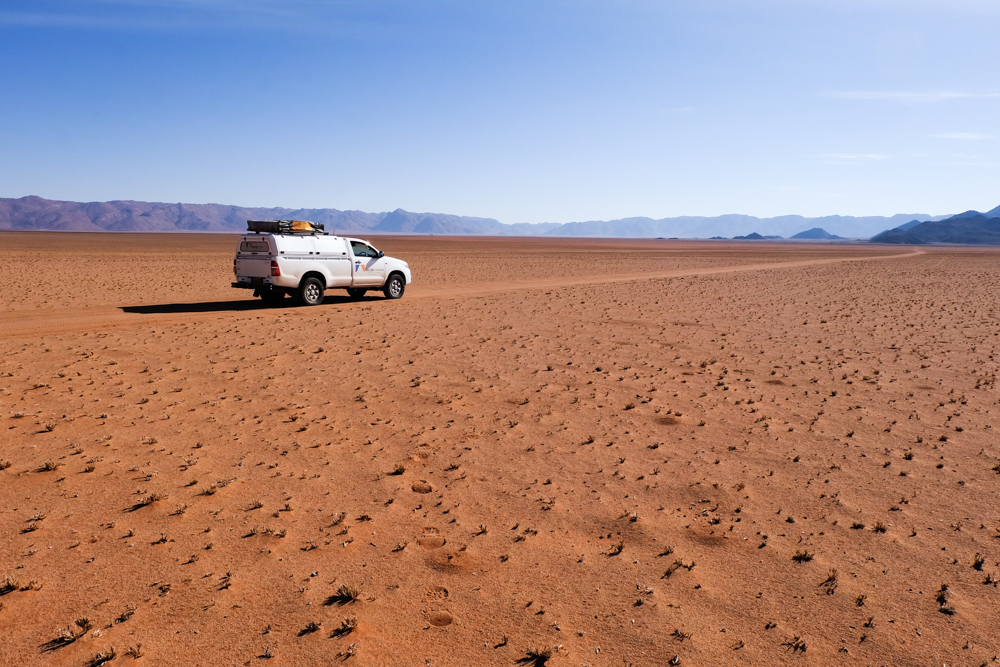 Viaggio in Namibia on the road