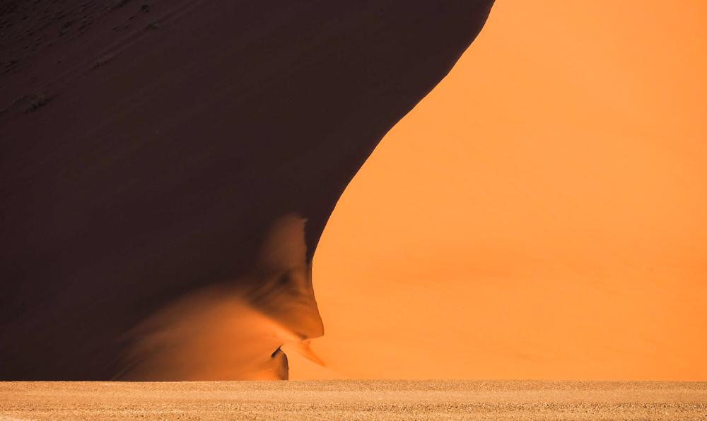 Viaggio in Namibia tramonto deserto