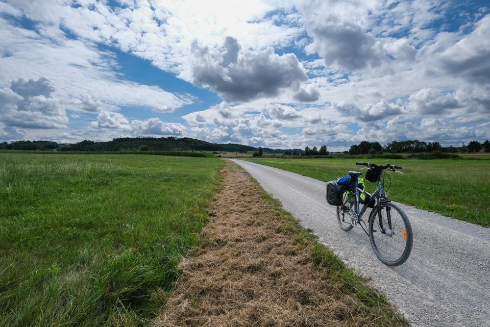 Viaggio in bicicletta strada romantica baviera da fussen a wurzburg romantische strasse (16)