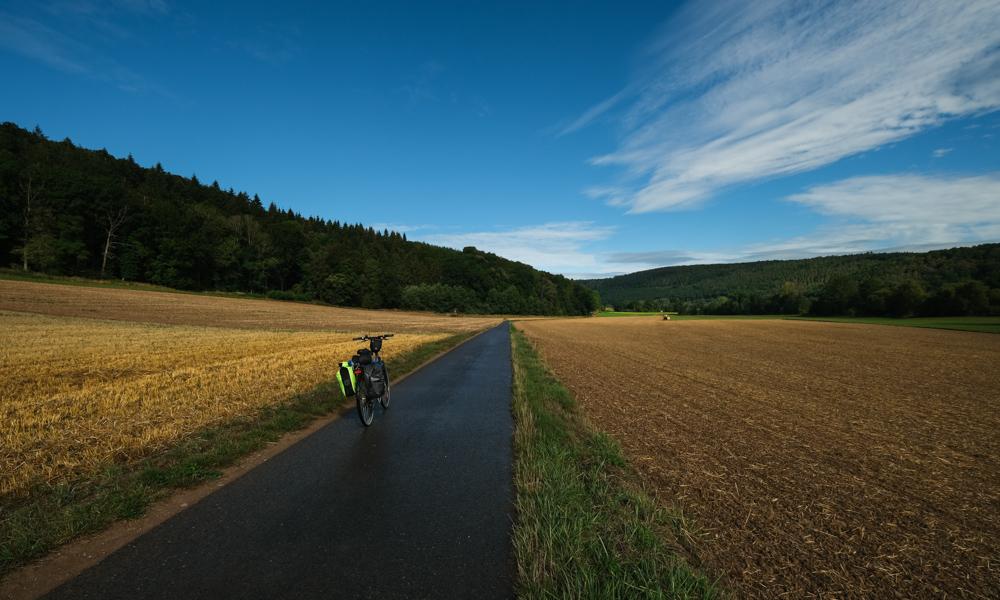 Viaggio in bicicletta strada romantica baviera da fussen a wurzburg romantische strasse bici