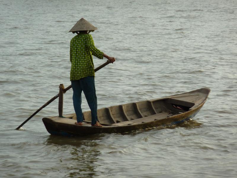 Vietnam barca mekong