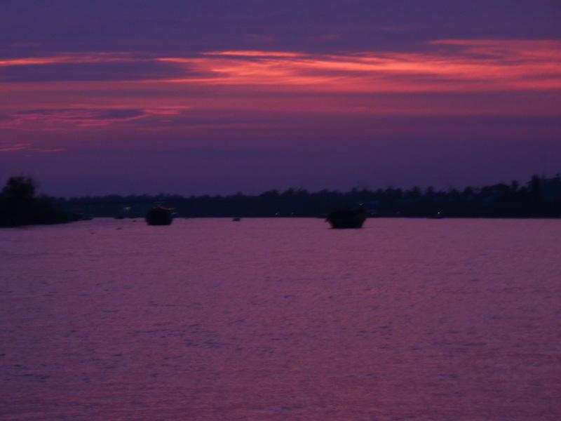 Vietnam mekong rosso