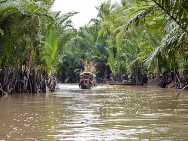Canali di Ben Tre vietnam mekong