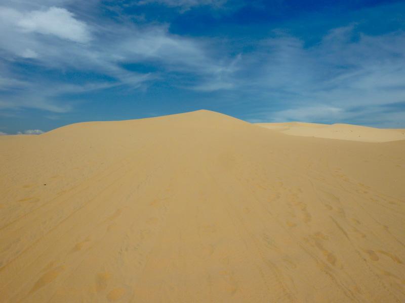 Vietnam deserto