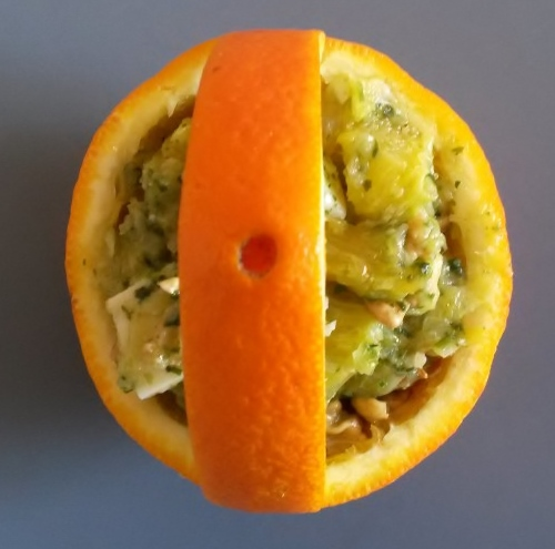antipasto creativo arancia