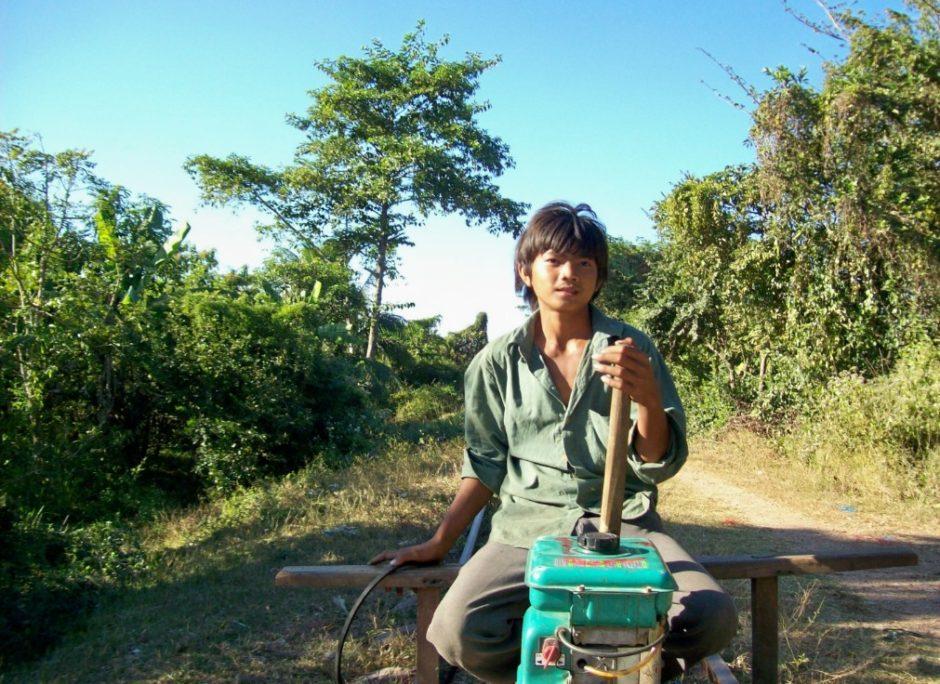 bambù treno cambogia battambang