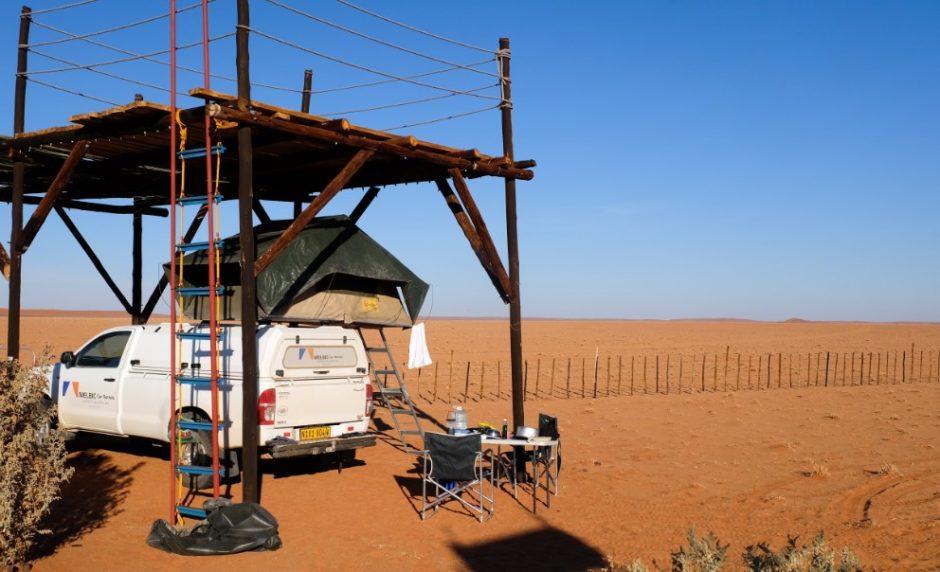 biospere reserve namibia camping