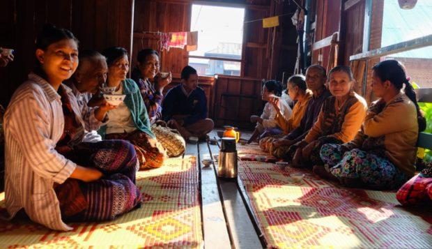 birmania donne inle