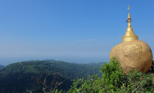 birmania golden rock