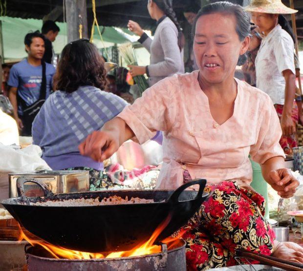 birmania inle mercato