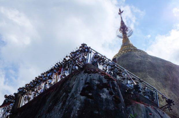birmania roccia oro