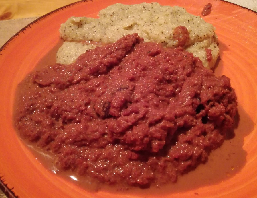 ricetta brasato salsiccia lavanda e fieno greco