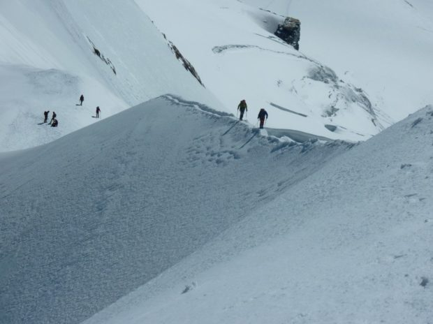 breithorn occidentale cresta