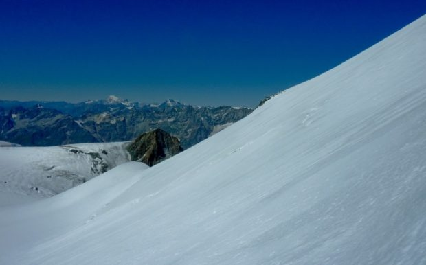 breithorn occidentale salita via normale