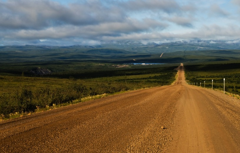 canada territori del nord ovest dempster highway freedom