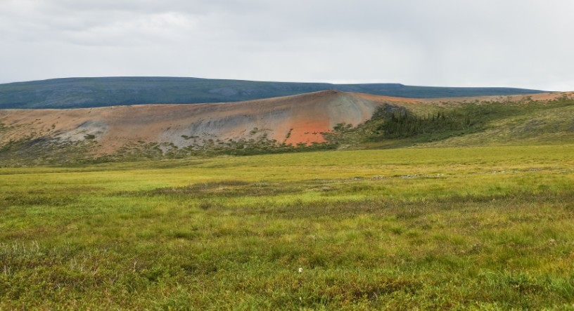 canada territori del nord ovest dempster highway permafrost