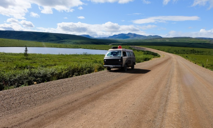 canada territori del nord ovest dempster highway