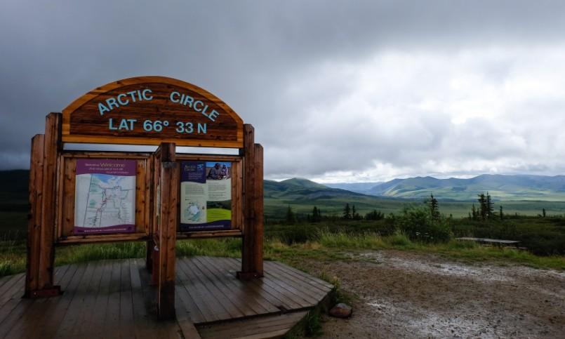 canada viaggio dempster highway circolo polare