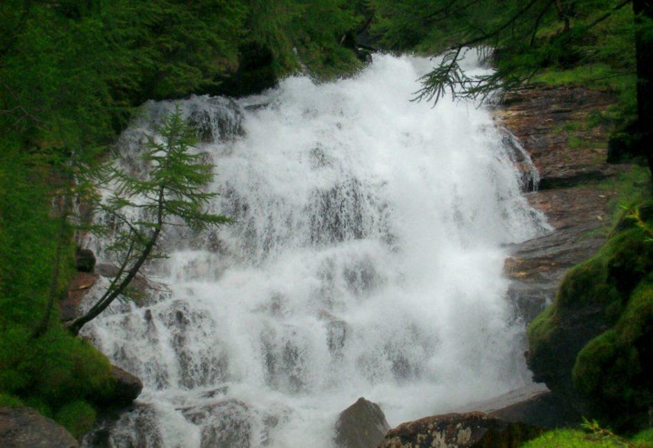 cascata trekking alpe veglia