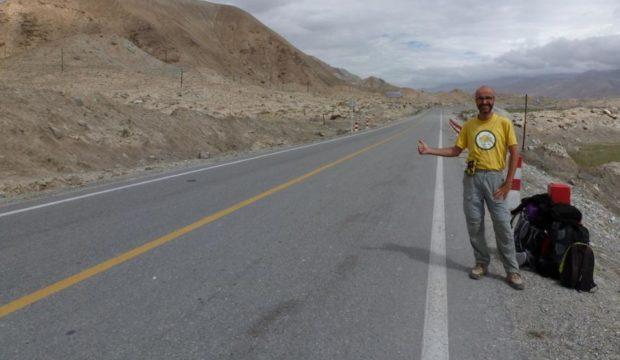 cina autostop kashgar