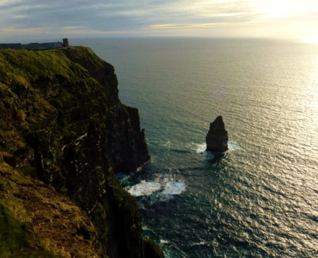 cliffs of moher tramonto