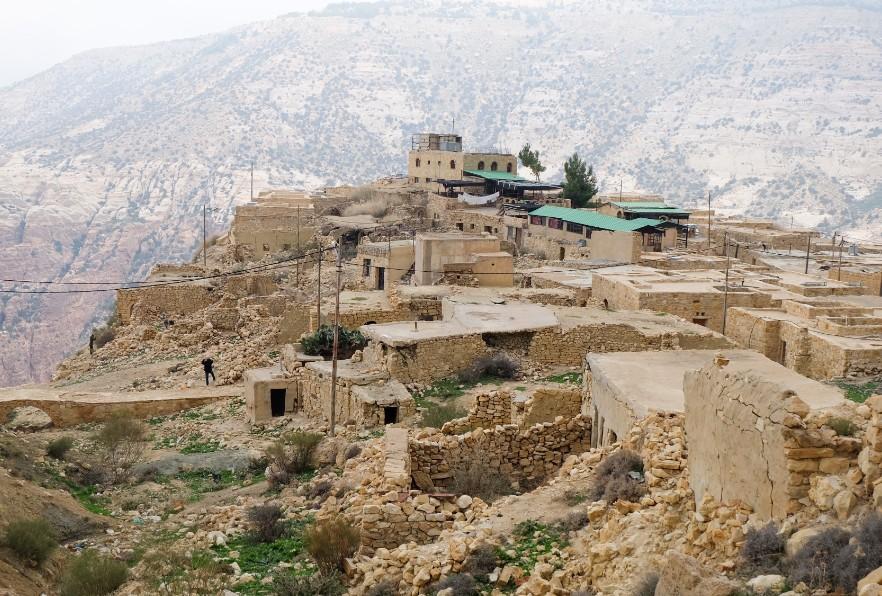 dana villaggio giordania