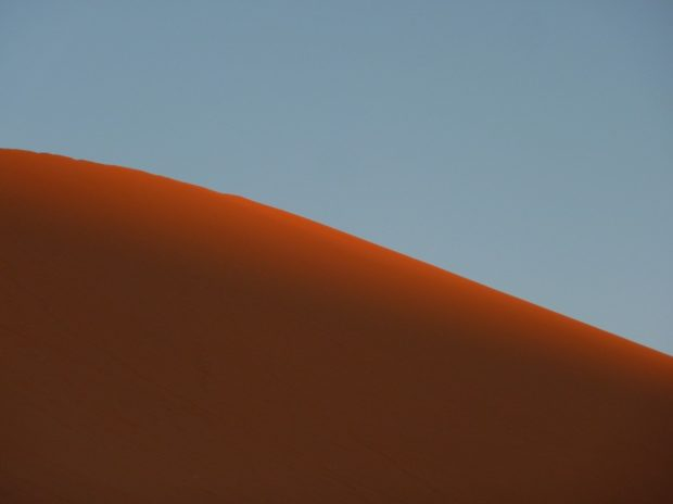 deserto sahara alba