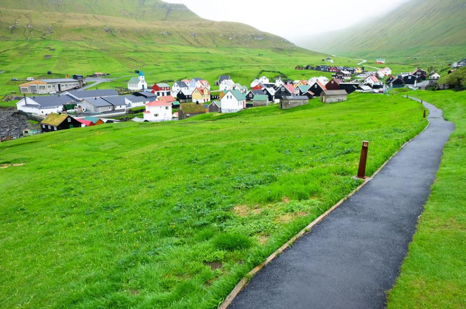 Villaggio - Libri di viaggio Isole Faroe