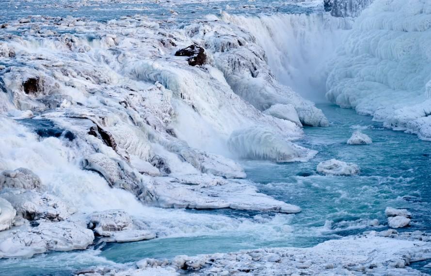diario di viaggio islanda gullfoss inverno