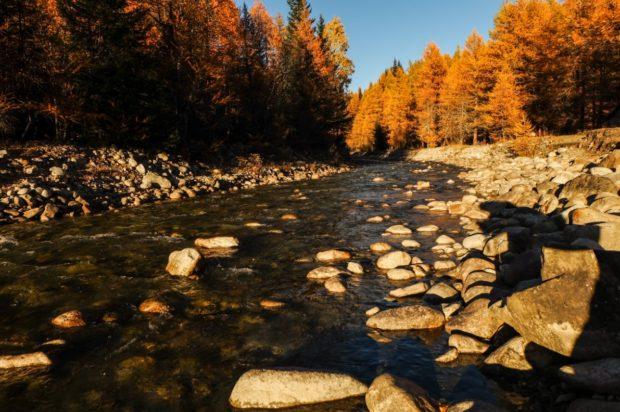 dora baltea autunno