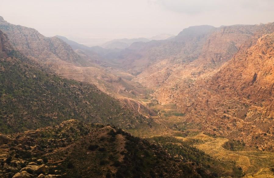 escursione dana giordania