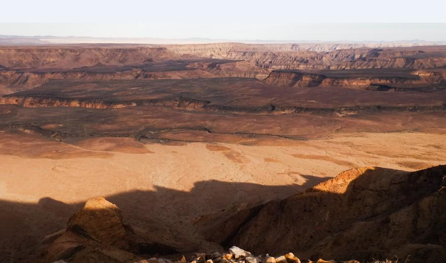 fish river canyon tramonto viaggio namibia