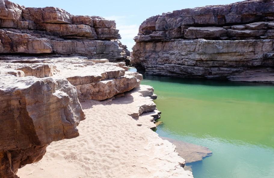 fish river fiume namibia