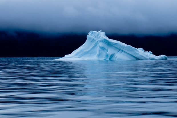fotografia iceberg groenlandia