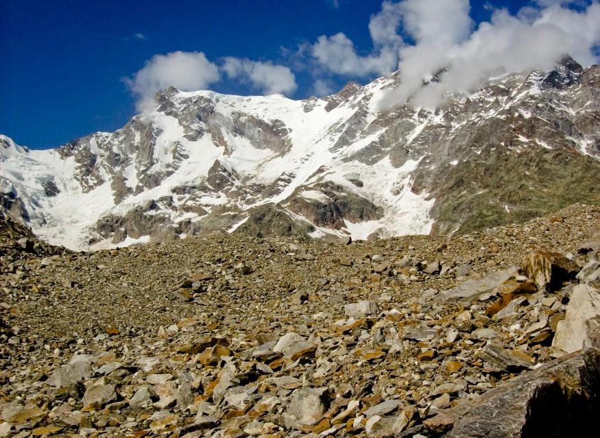 ghiacciaio trekking rifugio zamboni