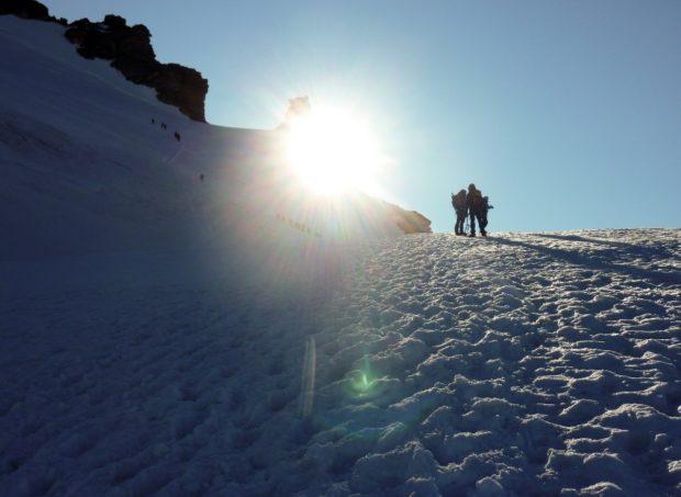 gran paradiso ghiacciaio via normale