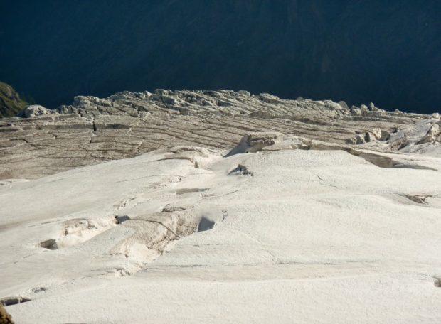 gran paradiso ghiacciaio tribolazione