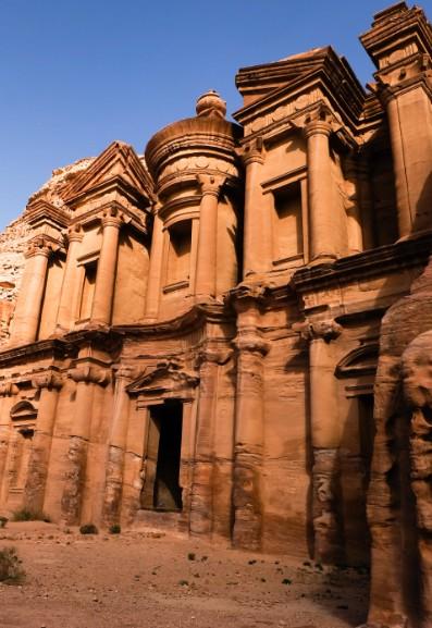 il monastero petra giordania