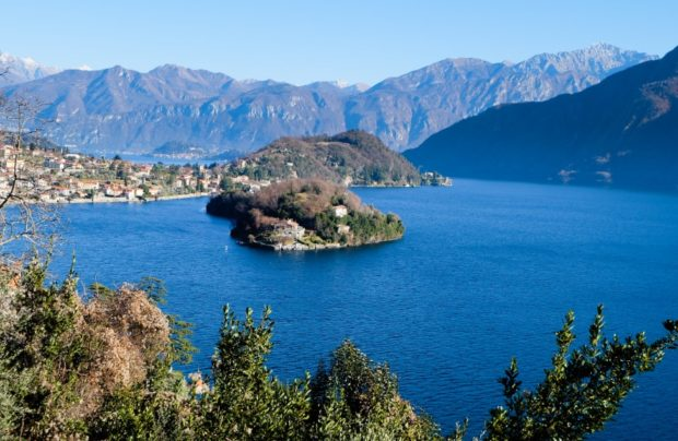 isola comacina lago di como green way