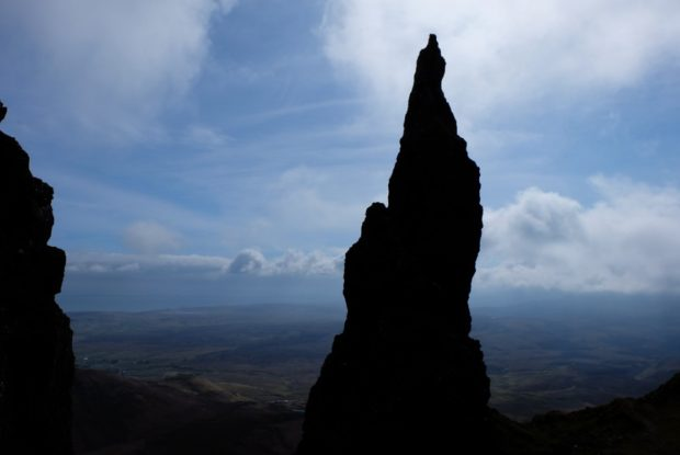 isola di skye scozia pinnacolo