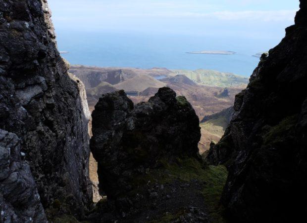 isola di skye scozia rocce
