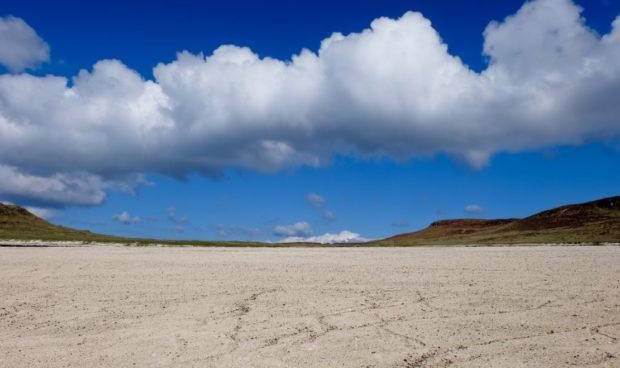 isola di skye spiaggia coralli scozia