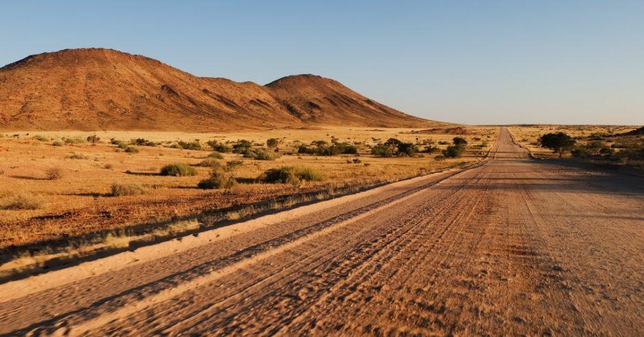 itinerario viaggio namibia auto a noleggio damaraland