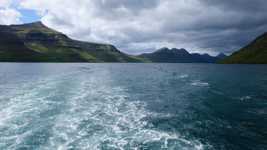 kalsoy faroe viaggio traghetto