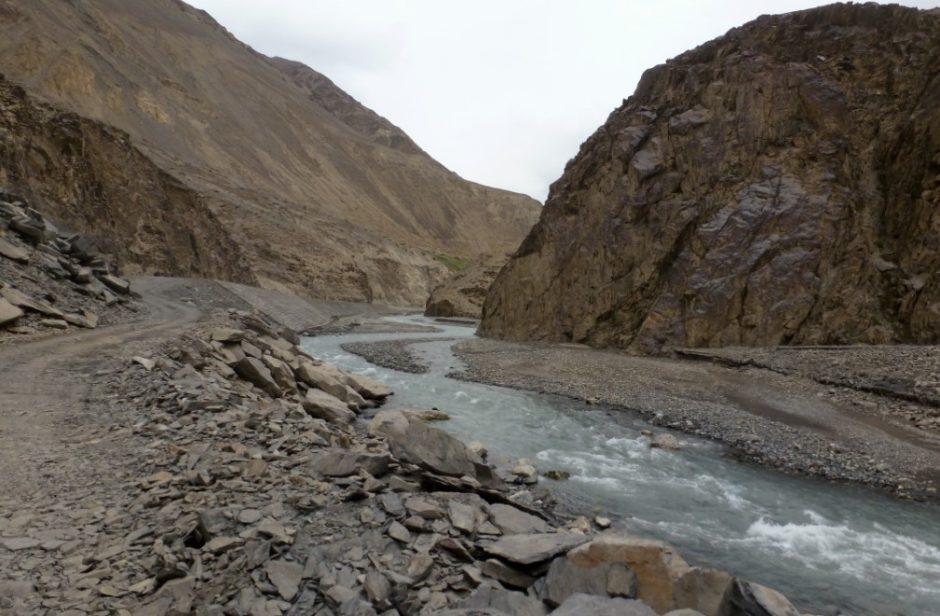 Passo del Khunjerab: il confine tra Pakistan e Cina