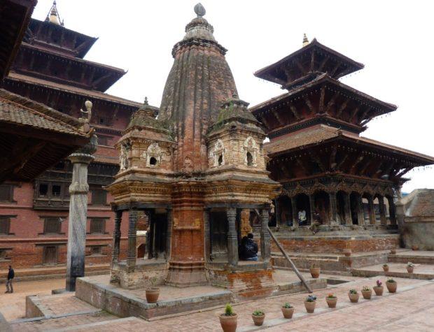 kathmandu piazza nepal