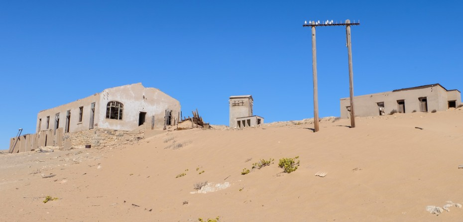 kolmanskop viaggio in namibia abbandono