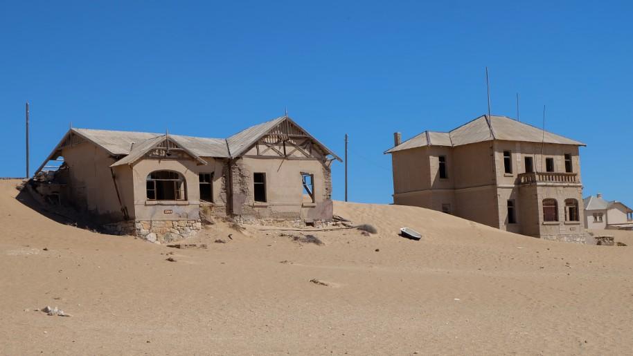 kolmanskop viaggio in namibia case abbandonate