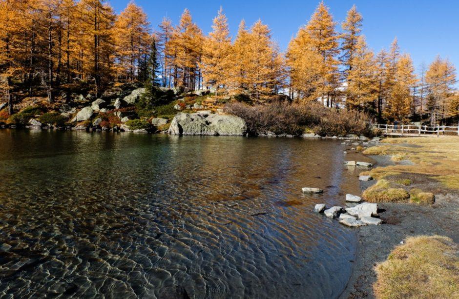 lago arpy ponte valle aosta